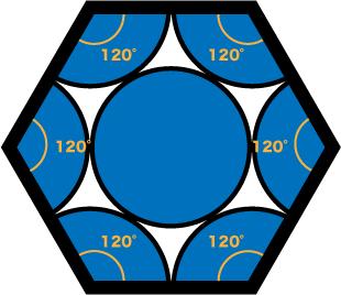 六方最密構造とは?単位格子に含む原子数や配位数、高さ、充填率の求め方など!